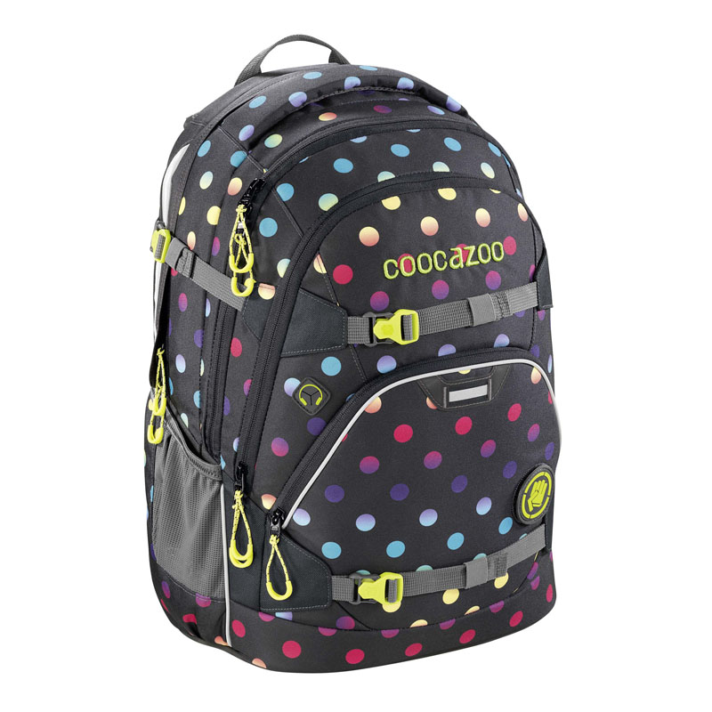 "Rucksack ""ScaleRale"", Magic Polka Colorful + Gratis LAMY Safari Kugelschreiber"