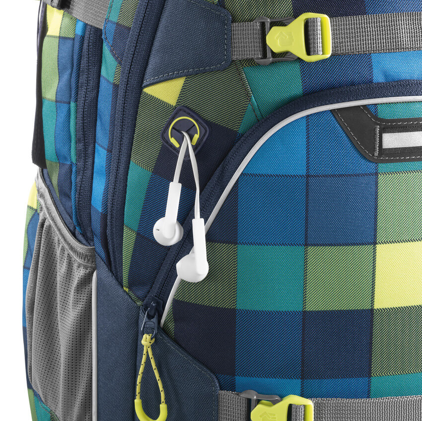 "coocazoo Rucksack ""ScaleRale"" Lime District + Gratis LAMY Safari Kugelschreiber"