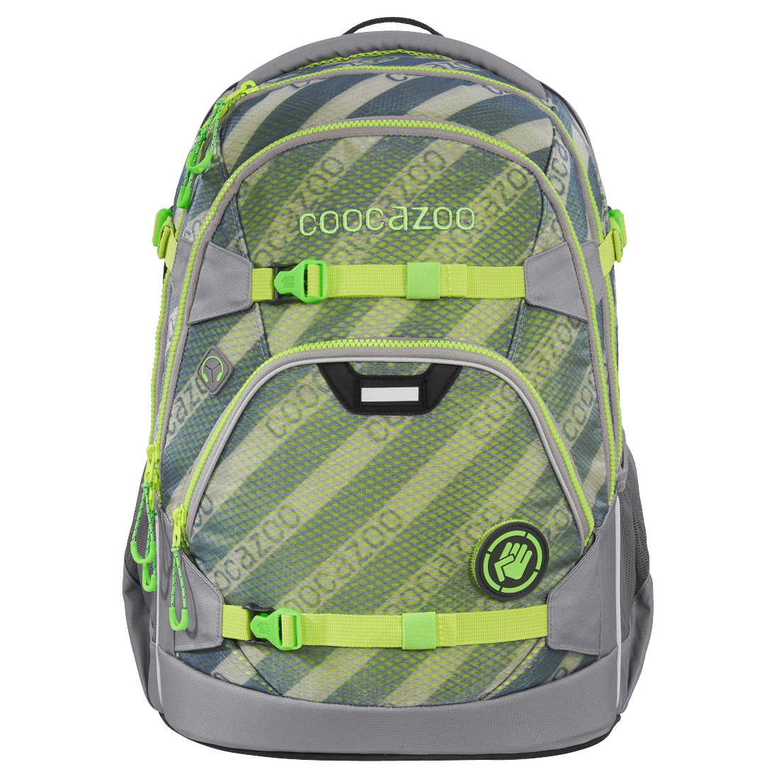 "coocazoo Rucksack ""ScaleRale"" MeshFlash Limited Edition Neon Green"